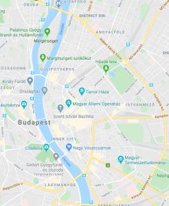 *10.000 HUF within Hungária körút on the Pest side, and on the Buda side within the train tracks - Karolina út - Villányi út - Álkotás utca - Vérmező út - Krisztina körút + along the river between Margit híd and Flórián tér.
