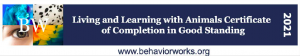 Living and Learning with Animals certified